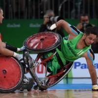 Força e inclusão: o rugby em cadeira de rodas